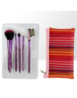 Charm Director - Set of professional makeup brushes - 5 elements