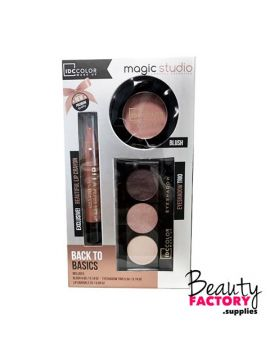 IDC Color - Magic Studio Makeup Set - Back to Basics