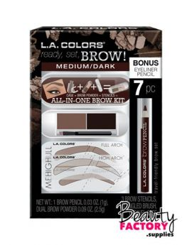 L.A Colors - Ready,Set, Brow! Set
