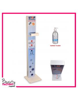 Hand Sanitising Station + Hand Sanitiser