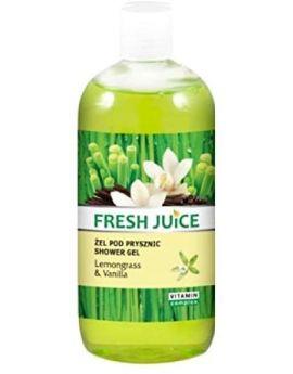 FRESH JUICE - Shower Gel - Lemongrass & Vanilla 500ml
