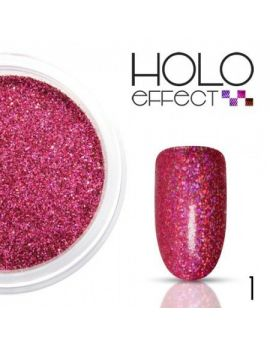 01. HOLO EFFECT Powder -  PINK