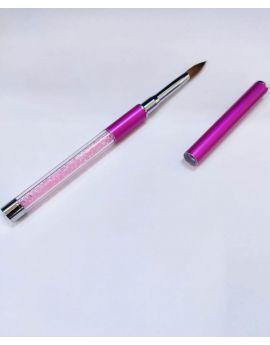 Kolinsky Acrylic Brush #10 Pink