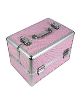 PINK WITH CUBIC ZIRCONIA Case for LED Lamp