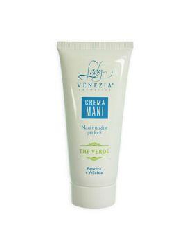 LADY VENEZIA - Hand & Nail Cream - Green Tea - 100ml