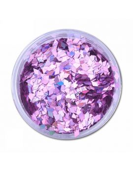 Lilac Diamond Laser Nail art sequins