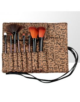 Charm Director - Set of professional makeup brushes - 8 elements