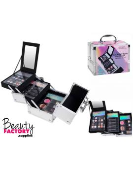 Makeup Case 33pcs (Silver)