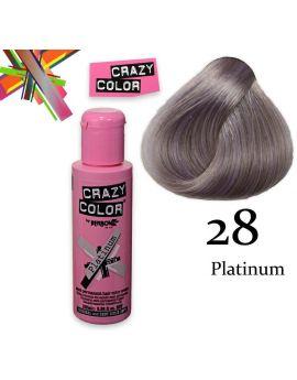 Crazy color semi-permanent 100 ml PLATINUM