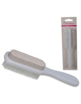 Le Kikke - Pumice stone with brush for pedicure