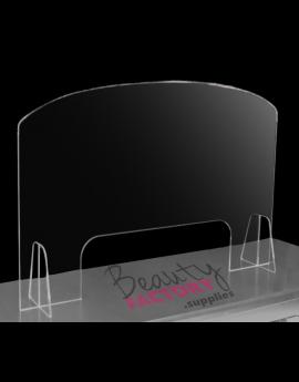 Salon Cast Acrylic / Perspex Desk Screen Guard Shield