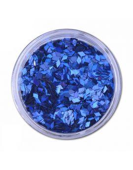 Blue Diamond Laser Nail art sequins