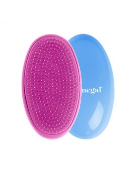 DONEGAL Detangling hair brush light blue-pink