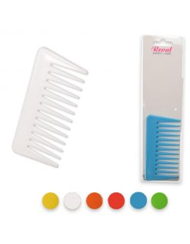 Wide tooth comb assorted colors small