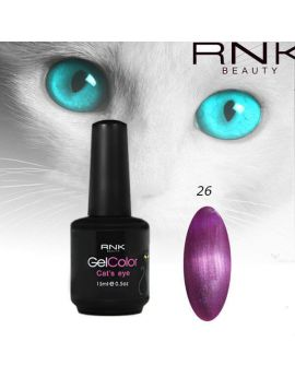 Cat Eye Gel Polish 15ml -Purple 26 CE