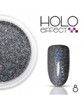 08. HOLO EFFECT Powder - Black