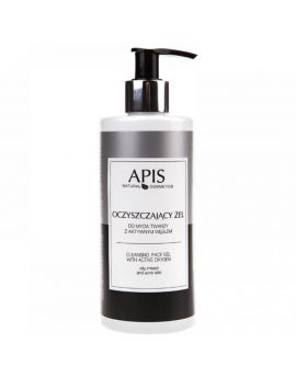 APIS Cleansing Face Gel with Active Oxygen 300 ml