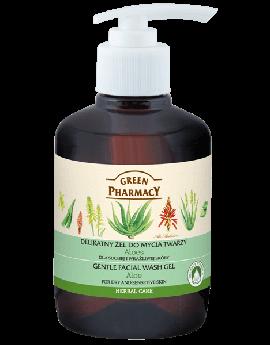 GREEN PHARMACY - Herbal Care - Gentle Facial Wash Gel - Aloa Vera
