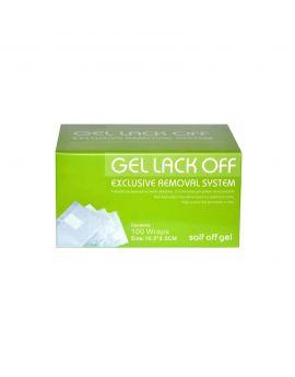 FOIL Wraps FOR REMOVING HYBRID gel polish 100PCS