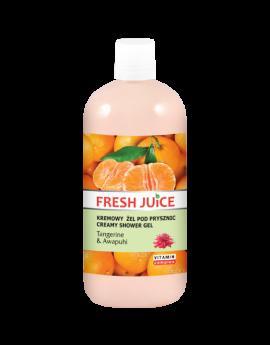 FRESH JUICE - Creamy Shower Gel - Tangerine & Awaphuwi 500ml