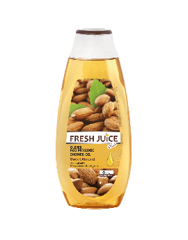 FRESH JUICE - Shower oil - Almond Oil, Macadamia Oil & Argan Oil 400ml