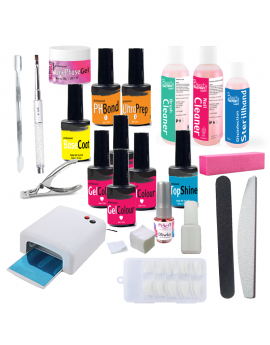 Gel Builder Starter Kit with UV Lamp