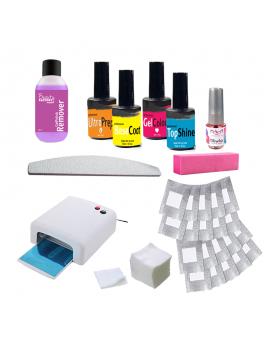 Gel Polish Kit with UV lamp