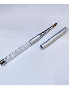 Kolinsky Acrylic Brush #08 Silver