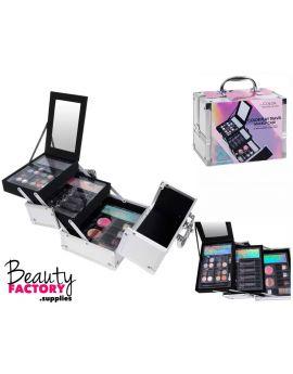 Makeup Case 33pcs (Silver)