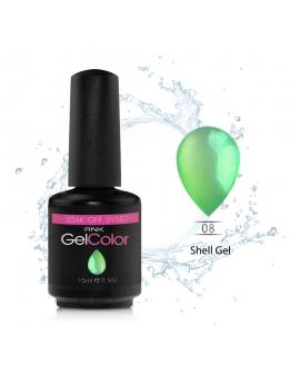 Shell Gel Polish Colour - 15ml Lime Green  SL08