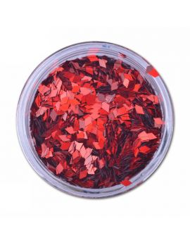 Red Diamond Laser Nail art sequins