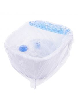 Disposable Bags for Pedicure Bath HDPE - (50 PCS)