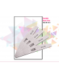 1x White Boat Nail File 80/100