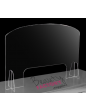 Salon Cast Acrylic / Perspex Desk Screen Guard Shield
