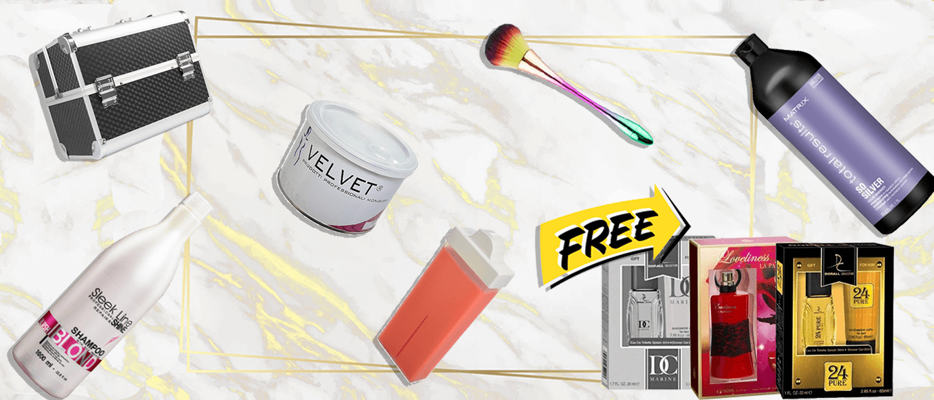 Free gift pack with purchases of €45